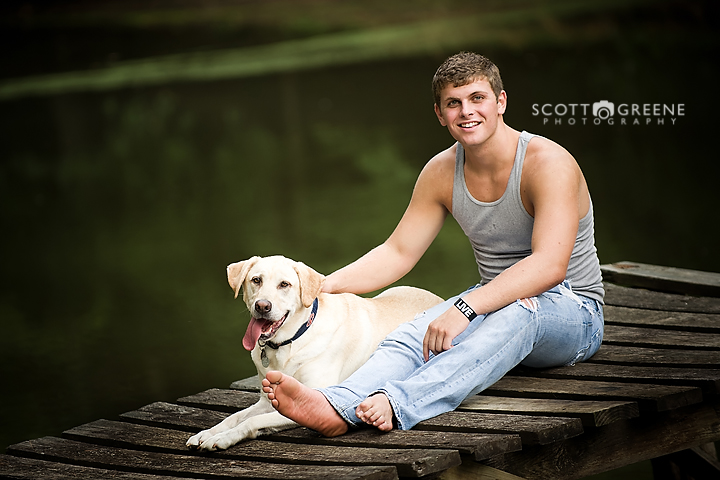 Scott Greene Photography Senior Session Jefferson GA