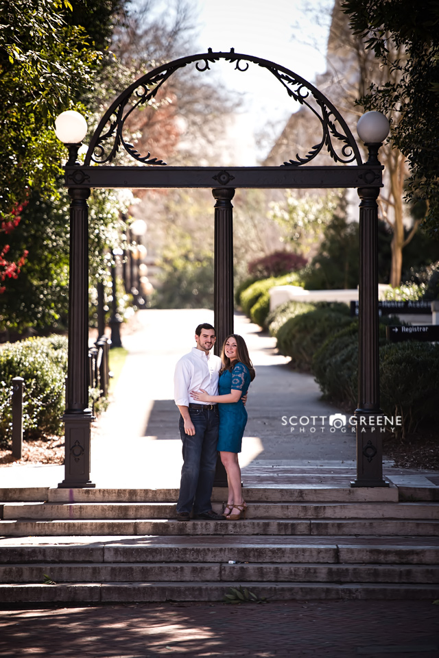 Athens GA Engagement Photography